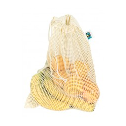 Groente en fruit net Fairtrade + GOTS | 115 grams | 39 x 28 cm