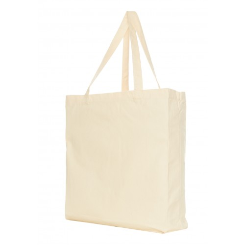Canvas shopper ecru