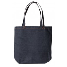 Canvas shopper small Denim
