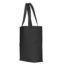 Canvas shopper small Zwart